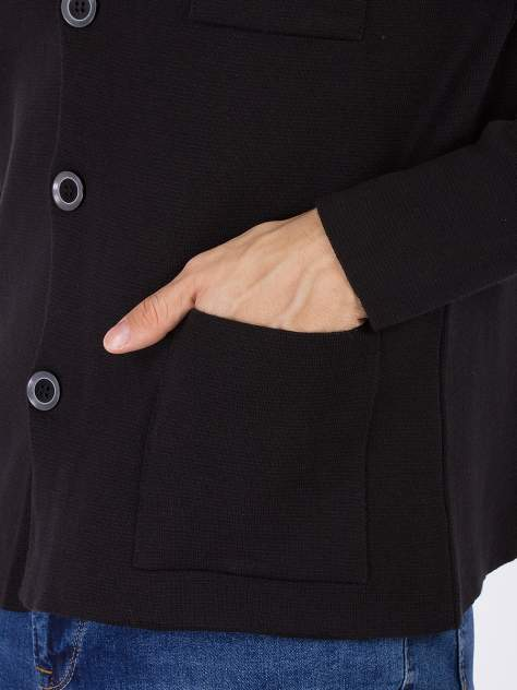Кардиган мужской DAIROS GD69300891 черный 3XL