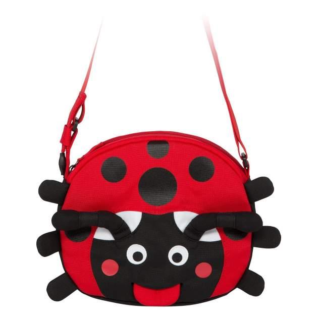 Сумочка affenzahn Lilly Ladybird красно-черная Affenzahn