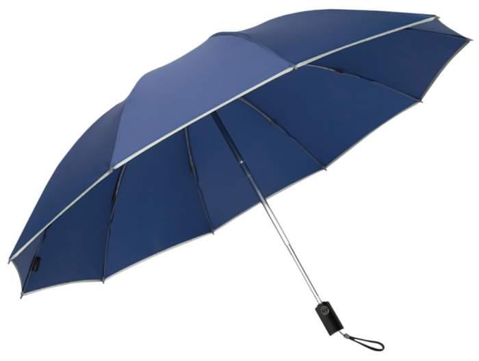 Зонт Xiaomi Zuodu Automatic Umbrella LED Blue