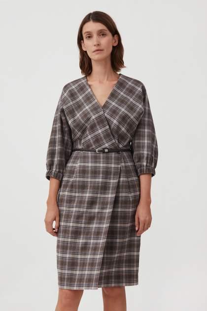 Женское платье Finn Flare FAB11054, коричневый