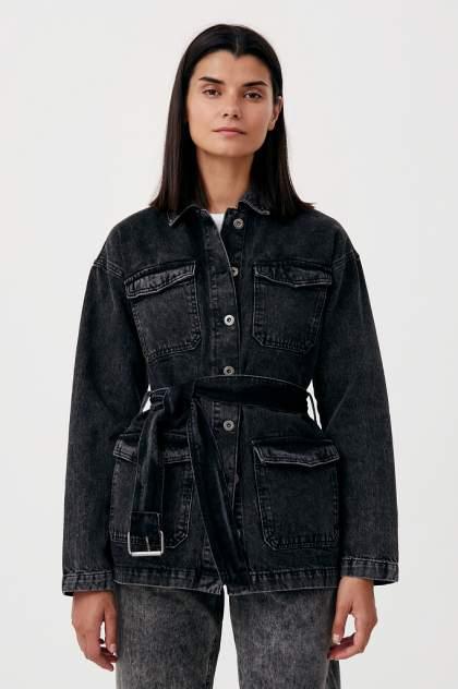 Женская джинсовая куртка Finn Flare FWB55003, черный