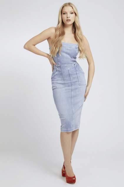 Женское платье Guess W1GK19D3ZT7POIP, голубой