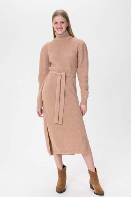 Женское платье AIM Clothing D-728-PHR 430, бежевый