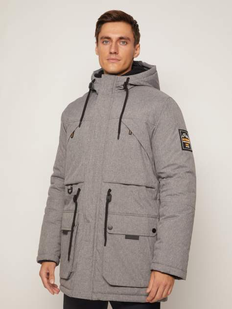 Куртка Zolla 010425112094, серый