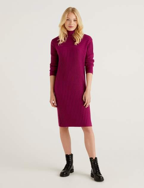 Женское платье United Colors of Benetton 21A_122NDV002, фиолетовый