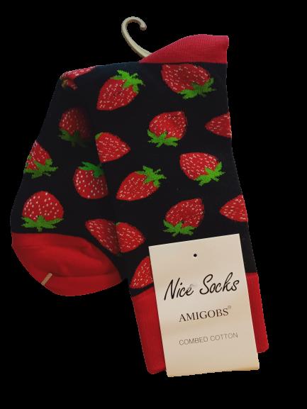 Носки женские Nice Sokcs разноцветные 36-41
