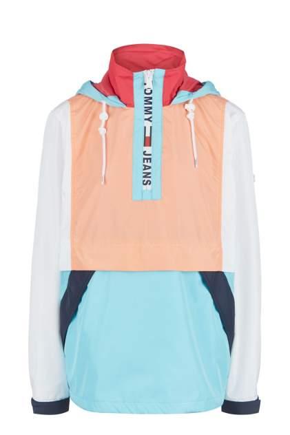 Ветровка женская Tommy Jeans DW0DW08028 CVB разноцветная M