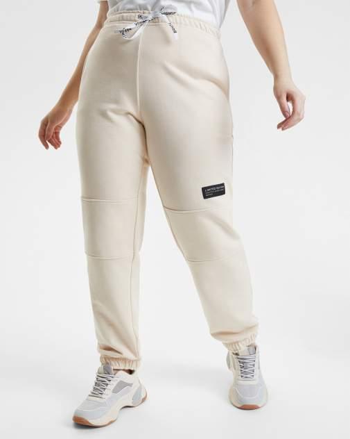Спортивные брюки женские BARMARISKA БЖ8-Б0442 бежевые 60-62