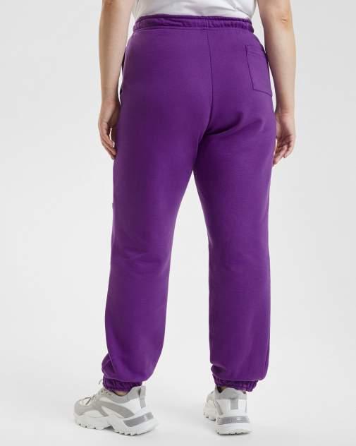 Спортивные брюки женские BARMARISKA БЖ8-Б0442 фиолетовые 60-62