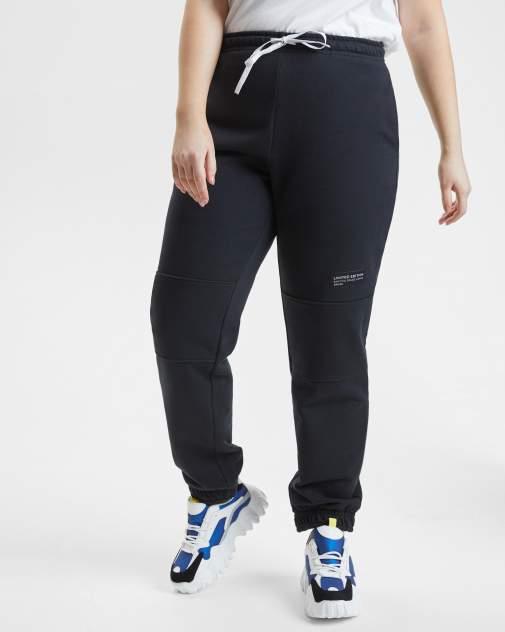 Спортивные брюки женские BARMARISKA БЖ8-Б0442 черные 60-62