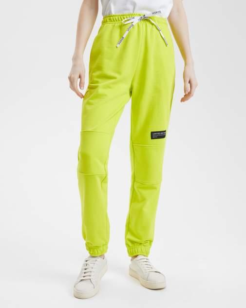 Женские спортивные брюки BARMARISKA БЖ-Б0442, зеленый