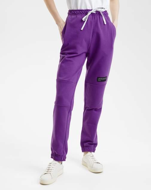 Женские спортивные брюки BARMARISKA БЖ-Б0442, фиолетовый
