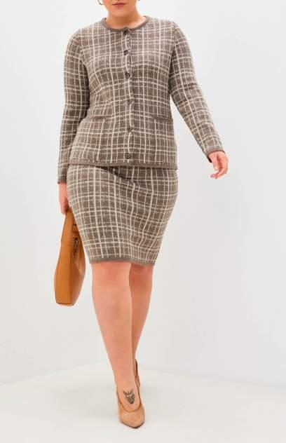 Женский костюм MILANIKA 221Н, коричневый