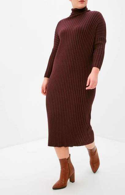 Женское платье MILANIKA 1819, бордовый