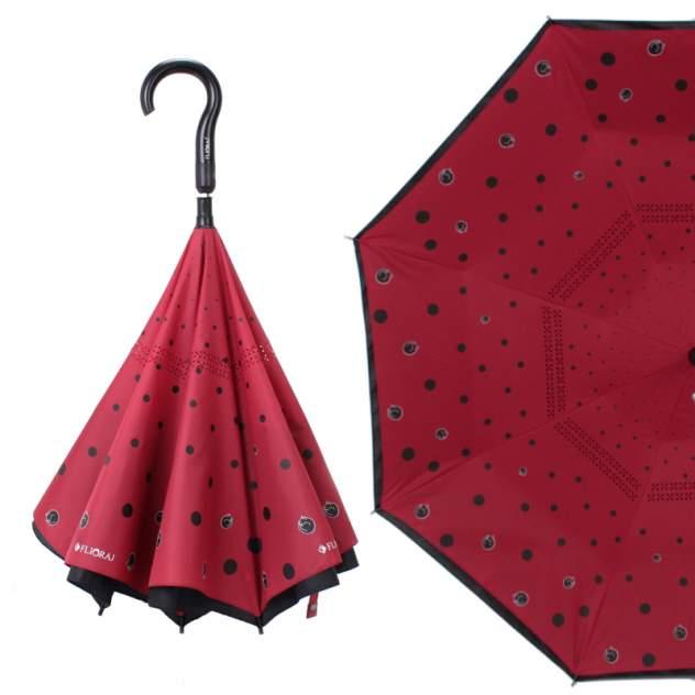 Зонт женский Flioraj 110007 FJ красный