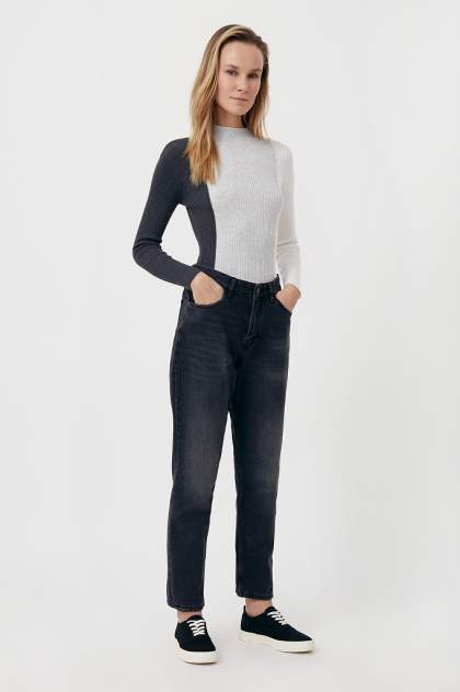 Женские джинсы  Finn Flare FAB15017, черный