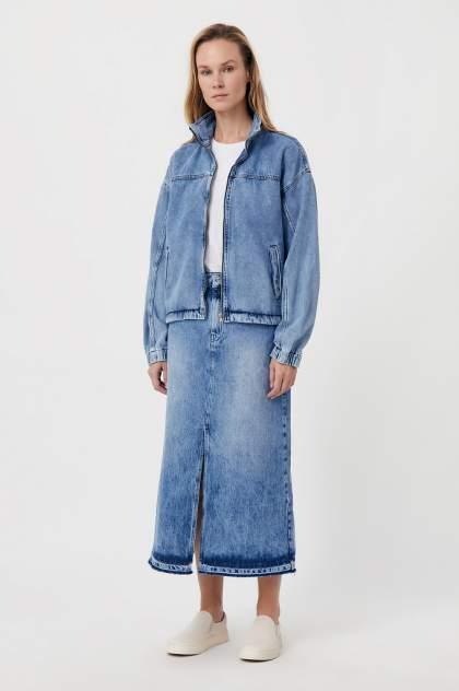 Юбка женская Finn Flare FWB55001 синяя M