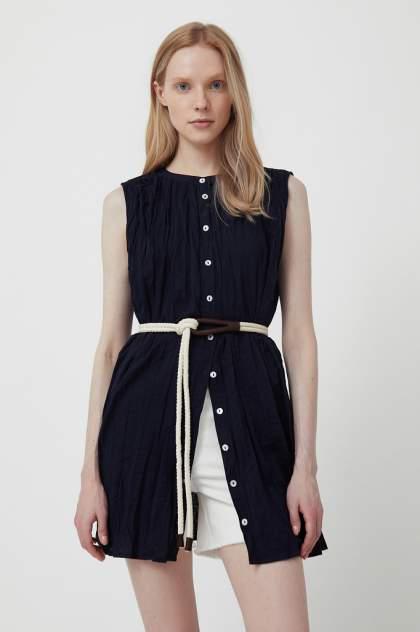 Женская блуза Finn Flare S21-110100, синий