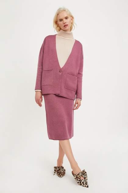 Женская юбка Finn Flare A20-11126, фиолетовый