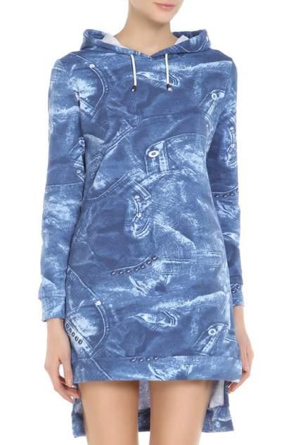Женское платье Веста 17-02-057, синий