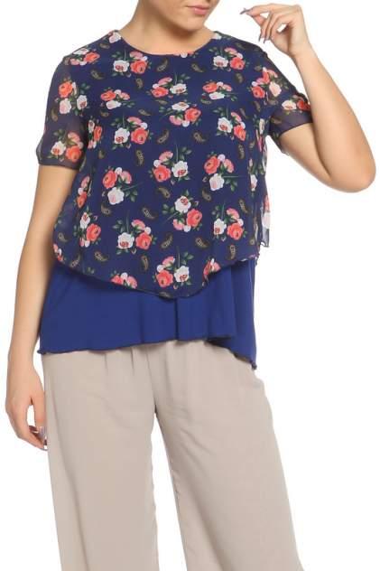 Блуза женская Веста 17-01-020 синяя 46