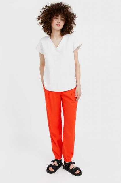 Женские брюки Finn Flare S21-12027, красный