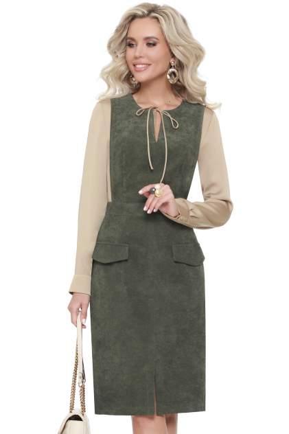 Женское платье Миллена Шарм Привлекает внимание, зеленый