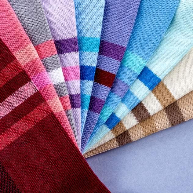 Набор носков женский My Rules SocksLight10 разноцветный 36-40