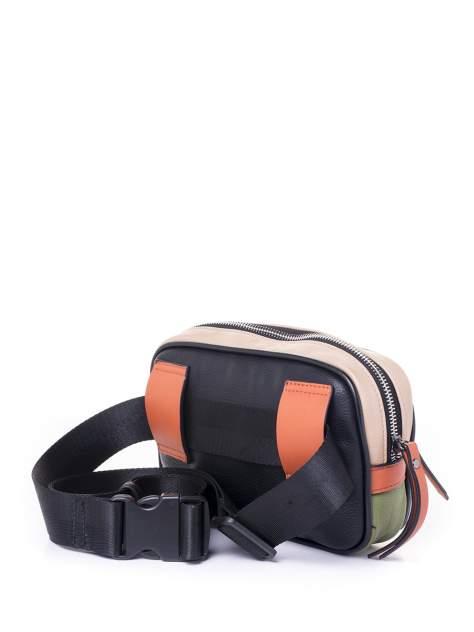 Поясная сумка женская Baggini 18106 черная