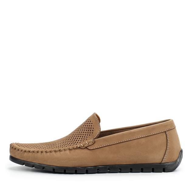 Мокасины мужские quattrocomforto 1-500-305-0, коричневый