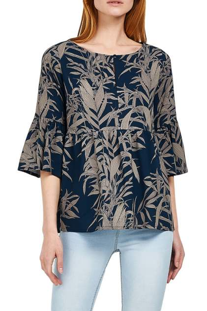 Блуза женская Alina Assi 15-503-219 синяя XL
