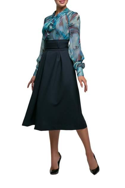 Блуза женская Петербургский швейный дом 1375-5 синяя 50