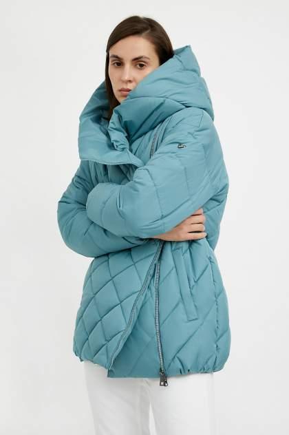 Куртка женская Finn Flare A20-32019 голубая XL