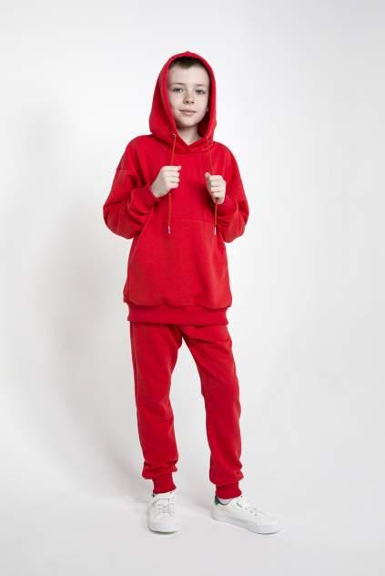 Детский спортивный костюм, МаdbаТ, к0008, р.146, цв. красный