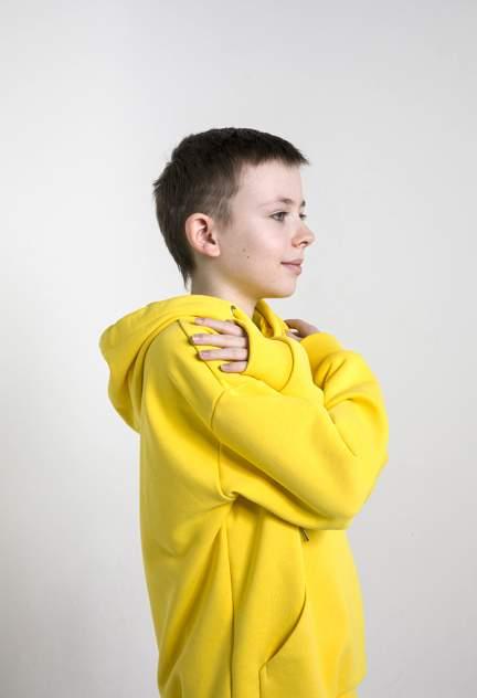 Детский спортивный костюм, МаdbаТ, к0014, р.158, цв. желтый