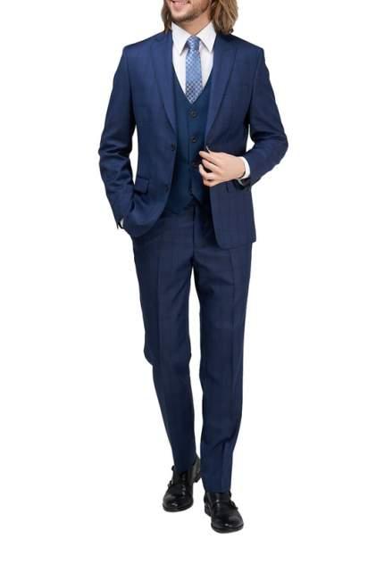 Классический костюм мужской BAZIONI 1321 MS CHASIRON синий 56-176