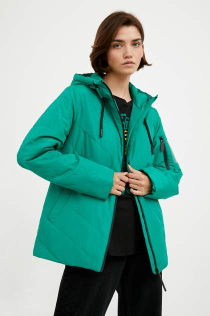 Куртка Finn Flare A20-13006, зеленый