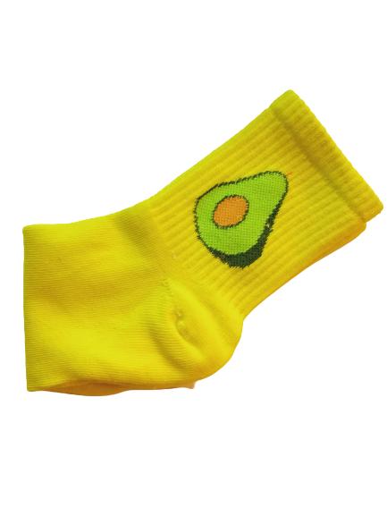 Носки женские Nice Sokcs желтые 36-41