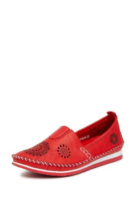 Эспадрильи женские Alessio Nesca 60619, красный