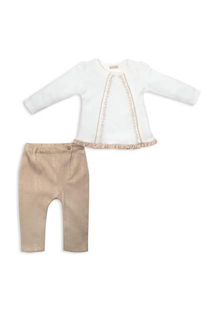Комплект одежды RBC, цв. бежевый р.74