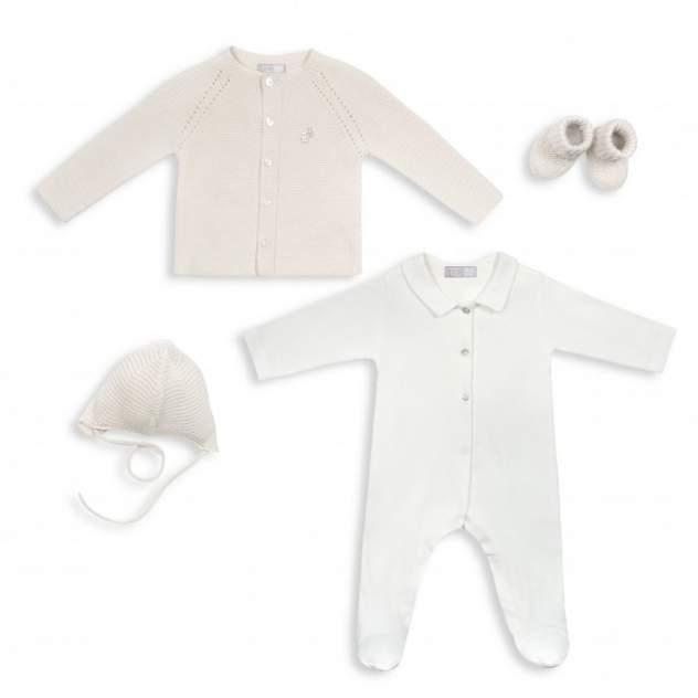 Комплект одежды RBC, цв. белый; бежевый р.62