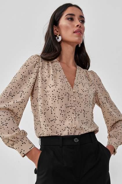 Блуза женская Vittoria Vicci 1-21-1-1-03-6614 бежевая XL