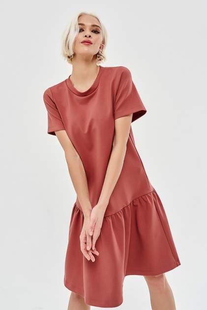 Платье женское Vittoria Vicci 1-21-1-1-01-21089 коричневое 42