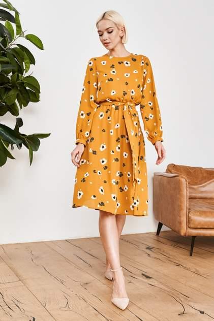 Платье женское Vittoria Vicci 1-20-2-0-00-52309-1 желтое 42