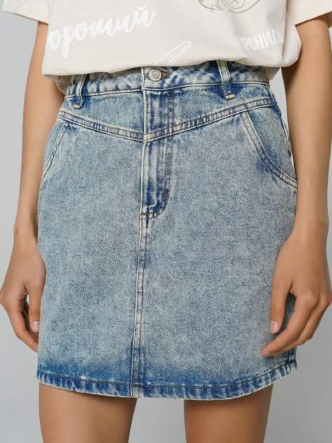 Женская юбка ТВОЕ A7967, голубой