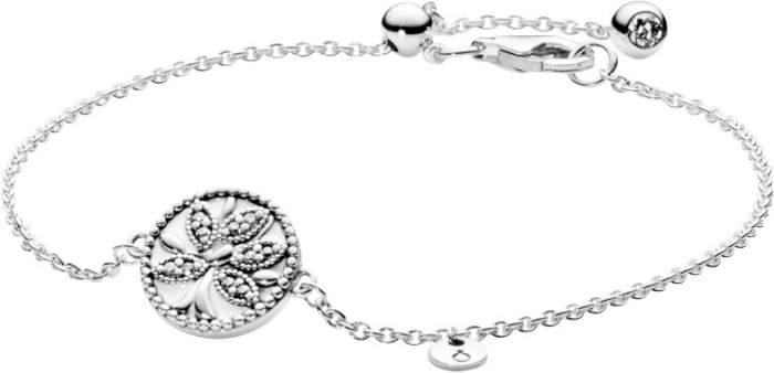 Браслет женский Pandora 597776CZ из серебра, р. 18