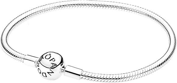 Браслет женский Pandora 590728 из серебра, р. 19