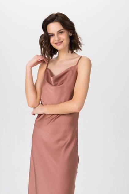 Платье-комбинация женское ELARDIS El_W10549 коричневое 46