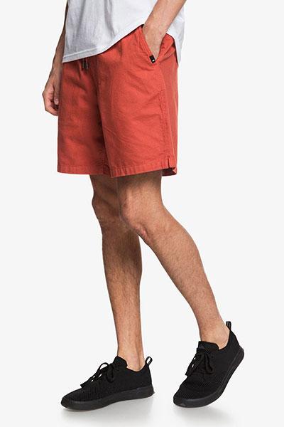 Шорты мужские Quicksilver Brain Washed 18', оранжевый