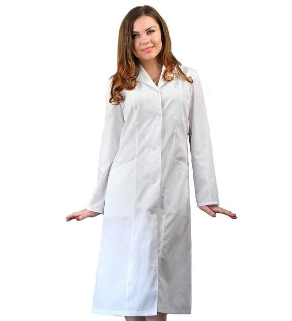 Халат медицинский женский Ursus ЯЛ-02-16 белый 40-42
